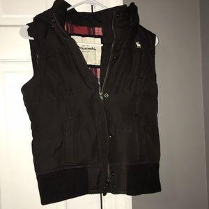 Abercrombie kids XL brown vest